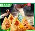 商家打架了#真真老老 嘉兴特产 蛋黄肉粽+鲜肉粽 100g*4个8.9元包邮(33.-25劵)